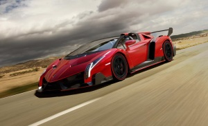 1.Lamborghini Veneno Roadster